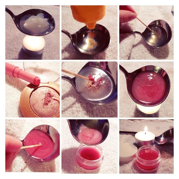 DIY lipgloss maken