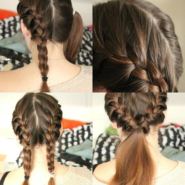 Zes leuke en eenvoudige kapsels beautyblog proud2bme - Hoe ze haar woonkamer te versieren ...
